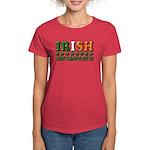 Irish and Proud of It 3D Women's Dark T-Shirt