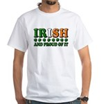 Irish and Proud of It 3D White T-Shirt