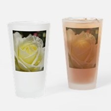 Ivory rose Drinking Glass