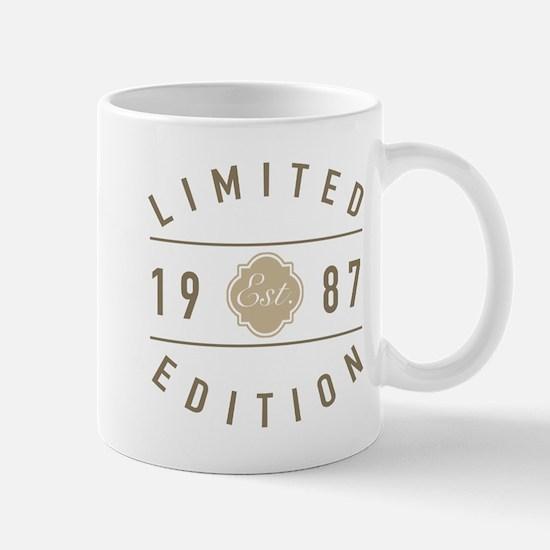 1987 Limited Edition Mugs
