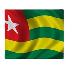 togo_flag Throw Blanket
