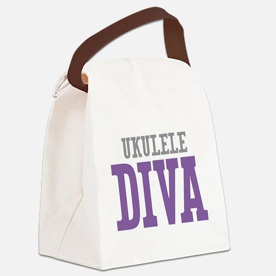 Ukulele DIVA Canvas Lunch Bag
