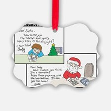 Dear-Santa Ornament