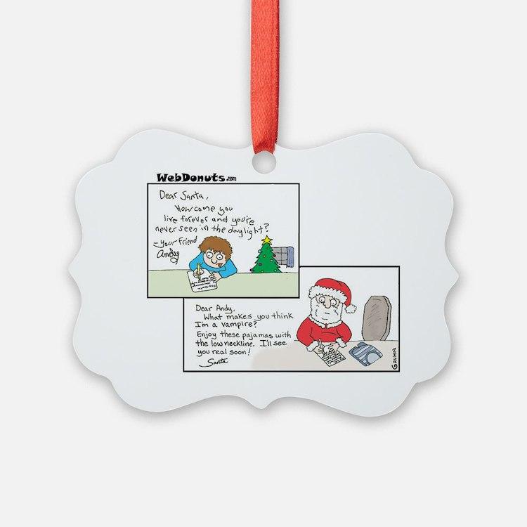 Dear-Santa Ornament