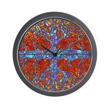 mouse pad tree Wall Clock
