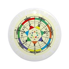 cp-modes-8-b Round Ornament