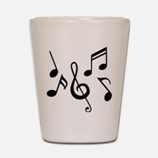 music_notes Shot Glass