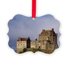 Eilean Donan Castle. Afternoon li Picture Ornament