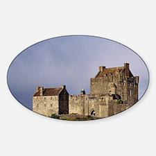 Eilean Donan Castle. Afternoon ligh Decal