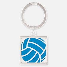 volleyball_invert Square Keychain
