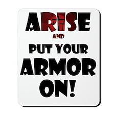 arise-armor Mousepad