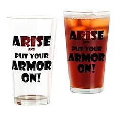 arise-armor Drinking Glass