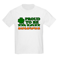 Proud to Be Irish Tricolor Kids T-Shirt