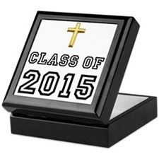 Class Of 2015 Cross Black 1 Keepsake Box