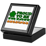 Proud to Be Irish Tricolor Keepsake Box