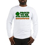 Proud to Be Irish Tricolor Long Sleeve T-Shirt