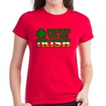 Proud to Be Irish Tricolor Women's Dark T-Shirt