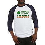 Proud to Be Irish Tricolor Baseball Jersey