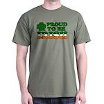 Proud to Be Irish Tricolor Dark T-Shirt