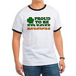 Proud to Be Irish Tricolor Ringer T