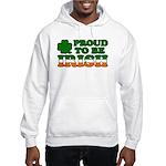 Proud to Be Irish Tricolor Hooded Sweatshirt