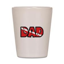 SCUBA Dad Shot Glass