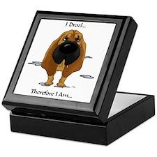 BloodhoundDroolLight Keepsake Box