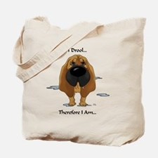 BloodhoundDroolLight Tote Bag