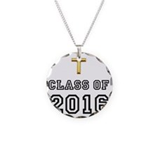 Class Of 2016 Cross Black 1 Necklace