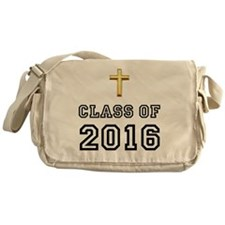 Class Of 2016 Cross Black 1 Messenger Bag