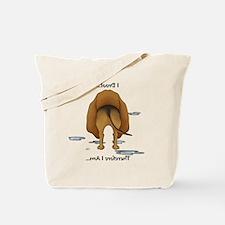 BloodhoundDroolMirrorLight Tote Bag