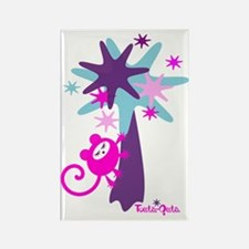 monkey-dream-pink-blue Rectangle Magnet