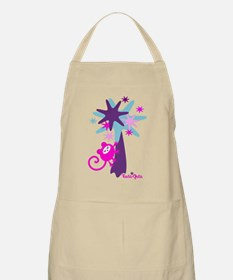 monkey-dream-pink-blue Apron