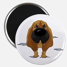 BloodhoundDroolDark Magnet