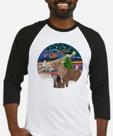 R-XmasMagic-PONY-DOG-rev1 Baseball Jersey