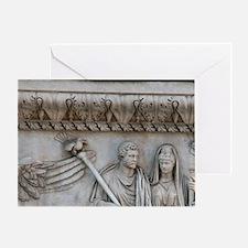 Antonius Pius. Roman emperor (138-16 Greeting Card