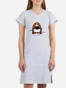 BassetDroolDark Women's Nightshirt