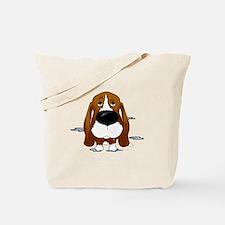 BassetDroolDark Tote Bag