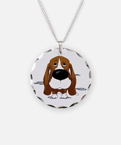 BassetDroolDark Necklace