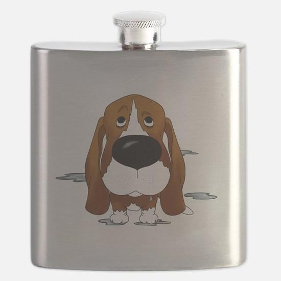 BassetDroolDark Flask