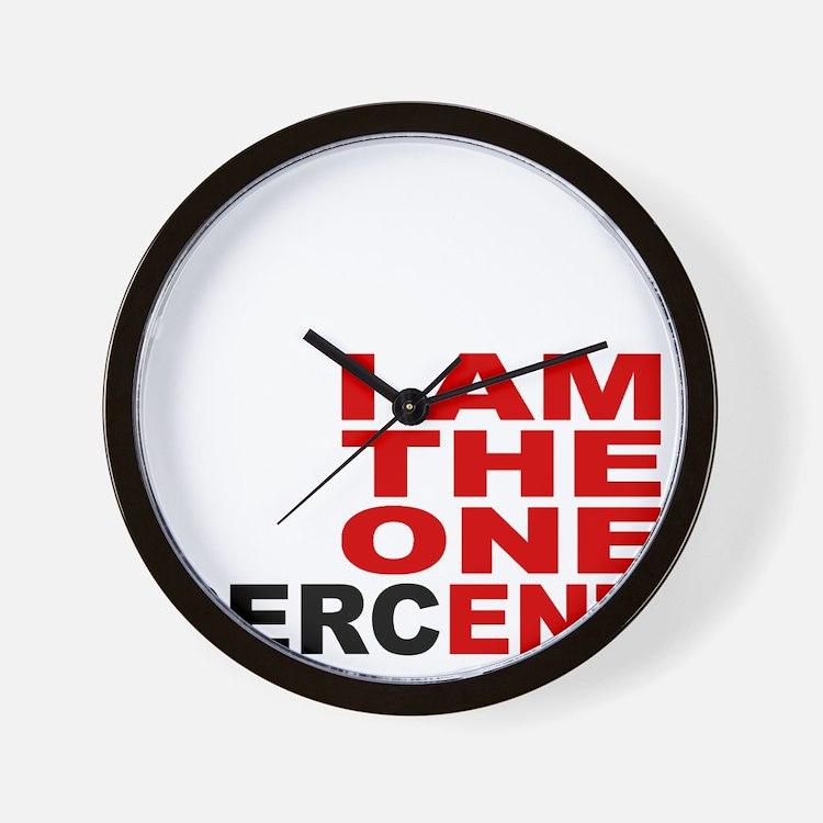 onepercent Wall Clock