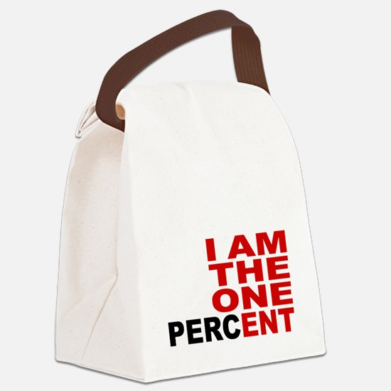 onepercent Canvas Lunch Bag