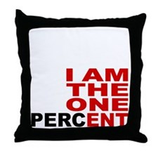 onepercent Throw Pillow