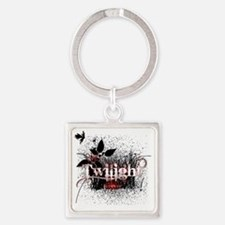 twilight forever by twibaby copy Square Keychain