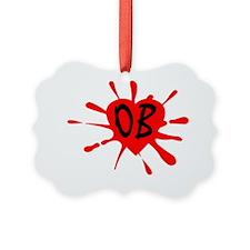 LogoOB orange Ornament