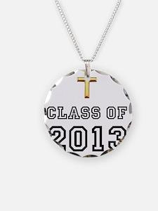 Class Of 2013 Cross Black 1 Necklace