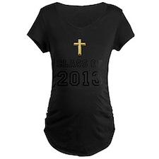 Class Of 2013 Cross Black 1 T-Shirt