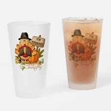 1st thanksgiving copy Drinking Glass