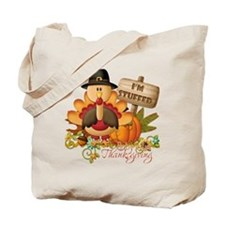 1st thanksgiving copy Tote Bag
