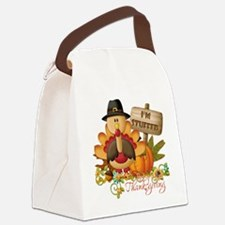 1st thanksgiving copy Canvas Lunch Bag